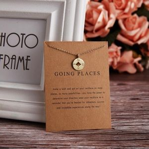 Jewelry - Going Places Compass Charm